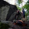 Mckenzie Pond Bouldering