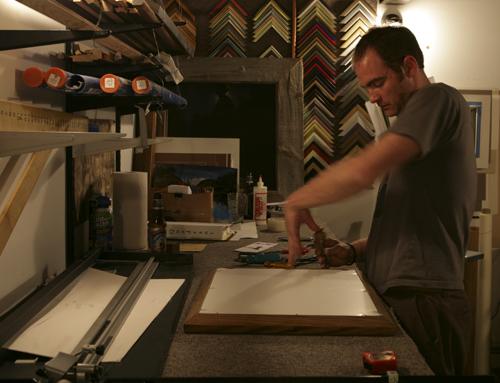 Framing at Zdak Studios