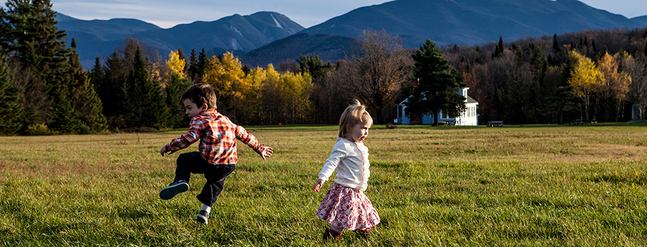 Kids and Mountains